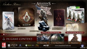 assassins creed III collector's edition