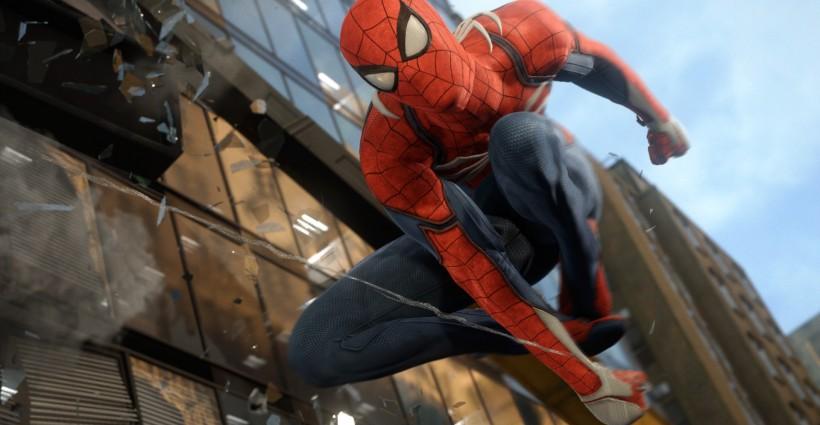 Spider-Man est une PlayStation 4