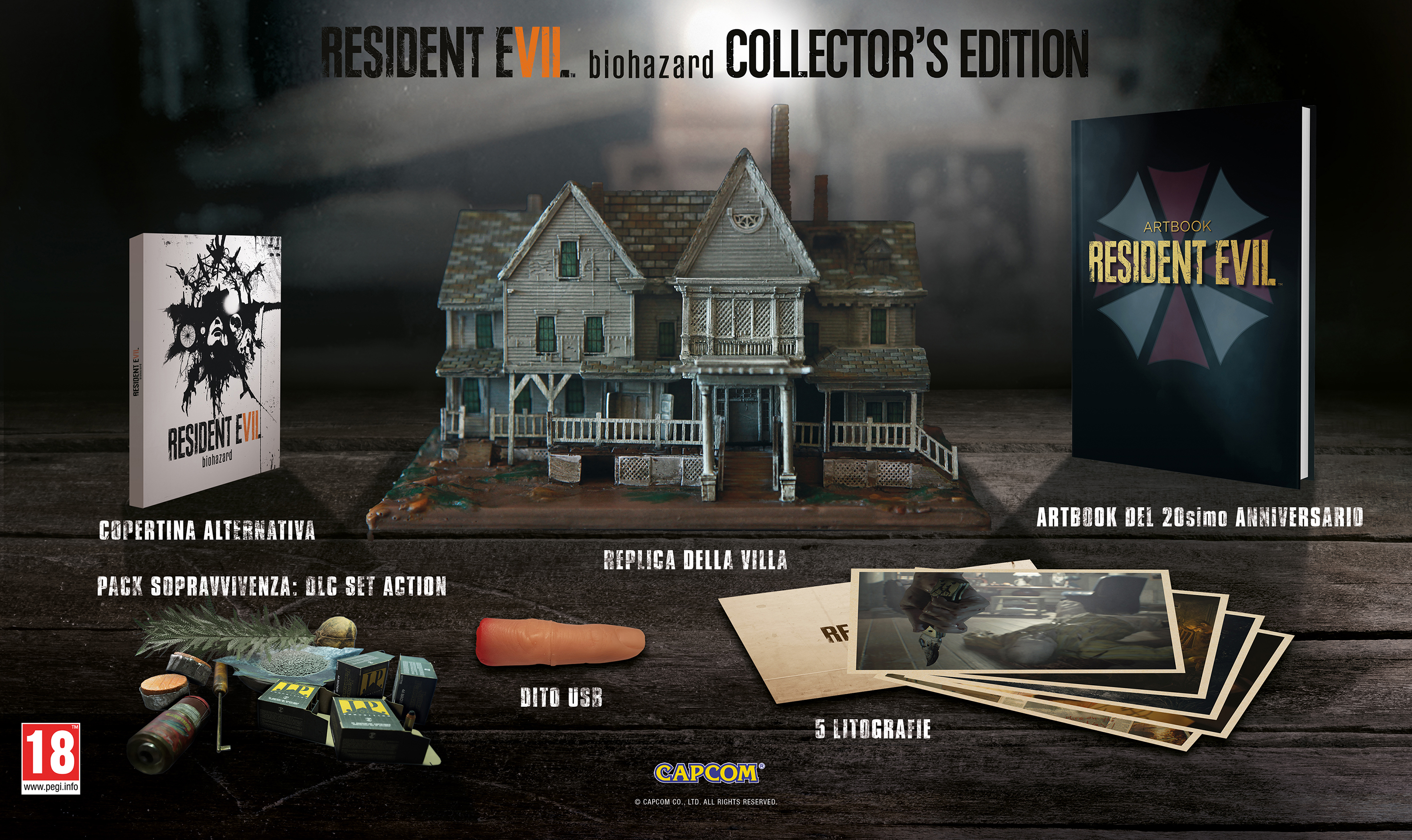 Resident Evil 7 What Is There And What Is Not There In The Collector S Edition Let S Talk About Video Games