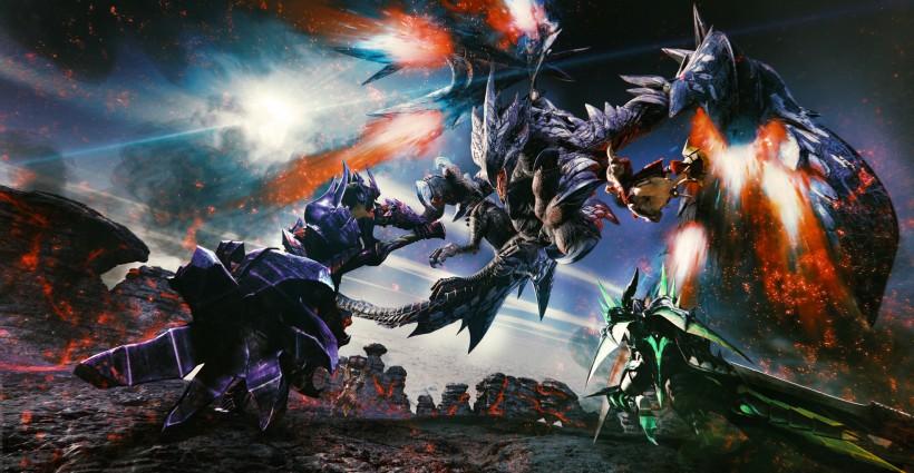 Monster Hunter annunciato per Nintendo Switch