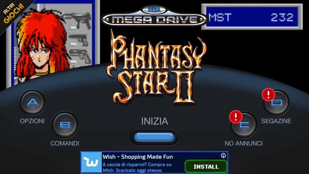 SEGA FOREVER Phantasy Star II