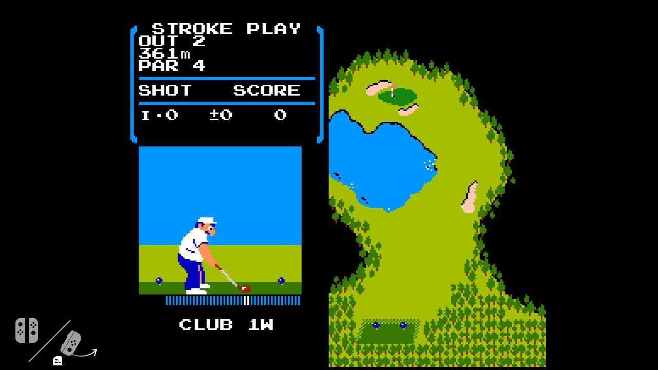 Гольф-клуб NES