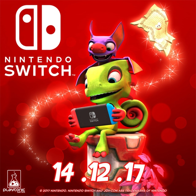 Yooka Laylee has finally found a home on Nintendo Switch »Let's talk