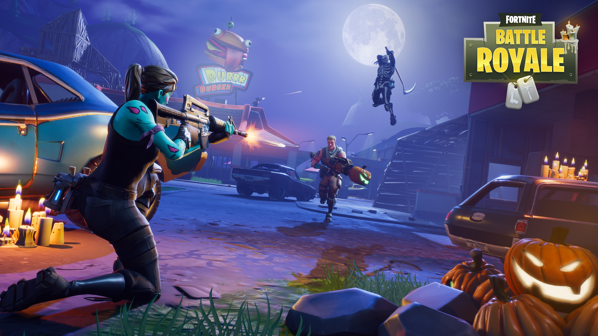 Fortnite officially arrives on nintendo switch and also has in game as we are used to other platforms therefore even on nintendo switch just connect a headset to the console to communicate with other players ccuart Images
