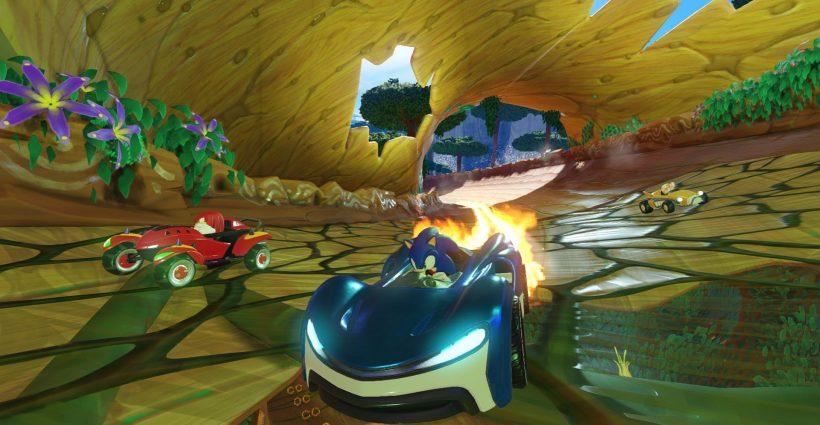 Equipo Sonic Racing