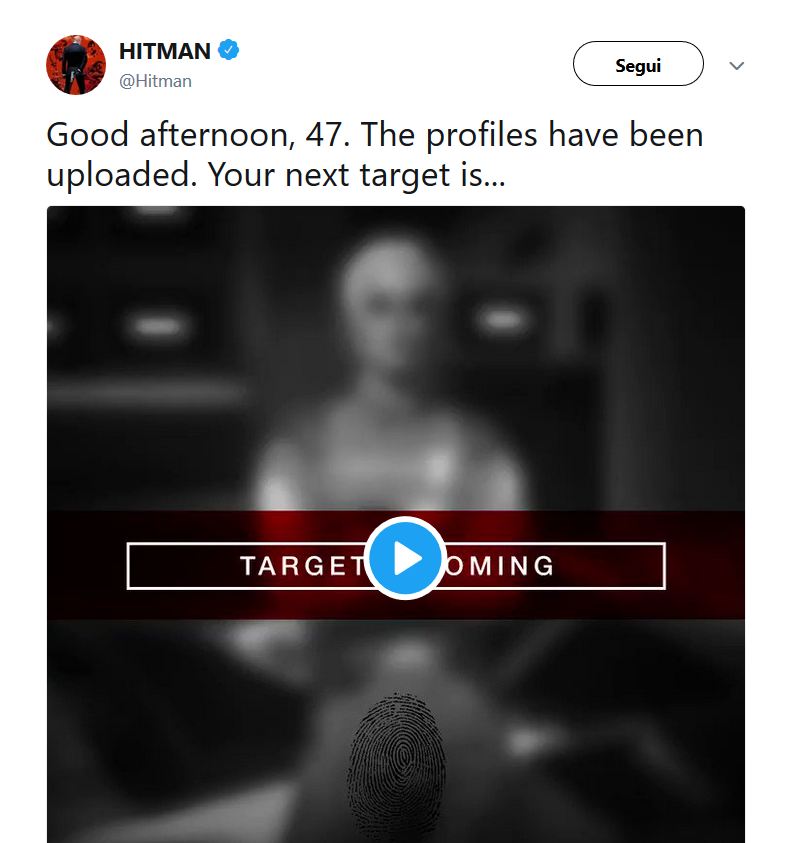 ヒットマン2 Twitter