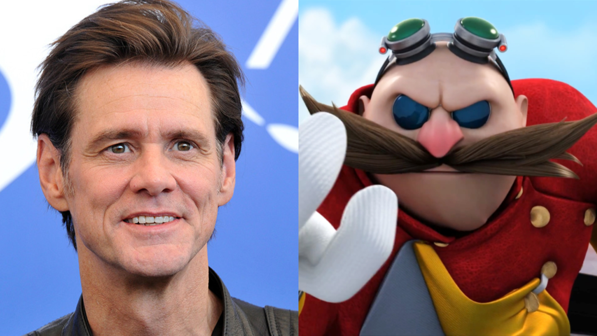 Jim Carrey Is Ready To Get Dr Eggman S Mustache In The Sonic Movie
