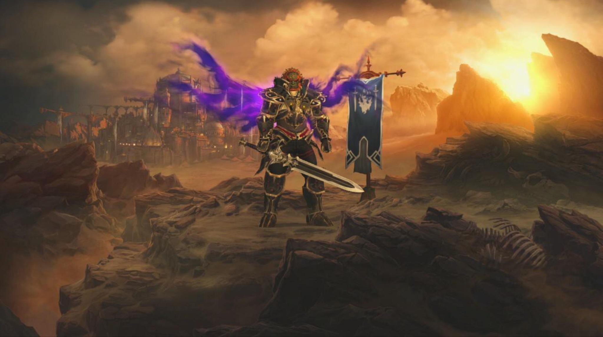 Diablo Iii Coleccion Eterna Trae El Infierno Y La Leyenda De Zelda