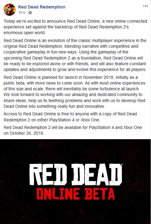 Red Dead en línea