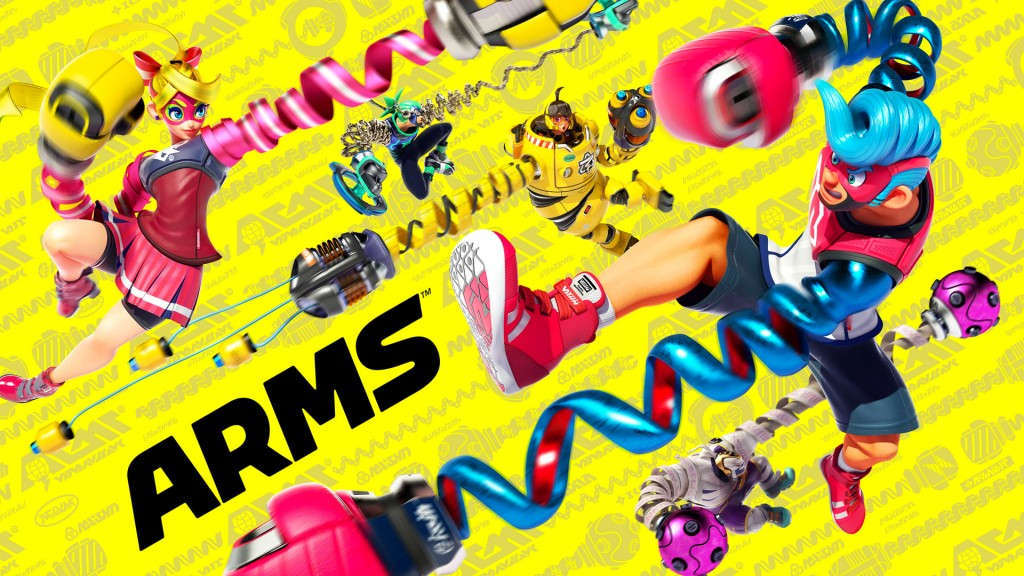 ARMS सुपर स्मैश ब्रदर्स