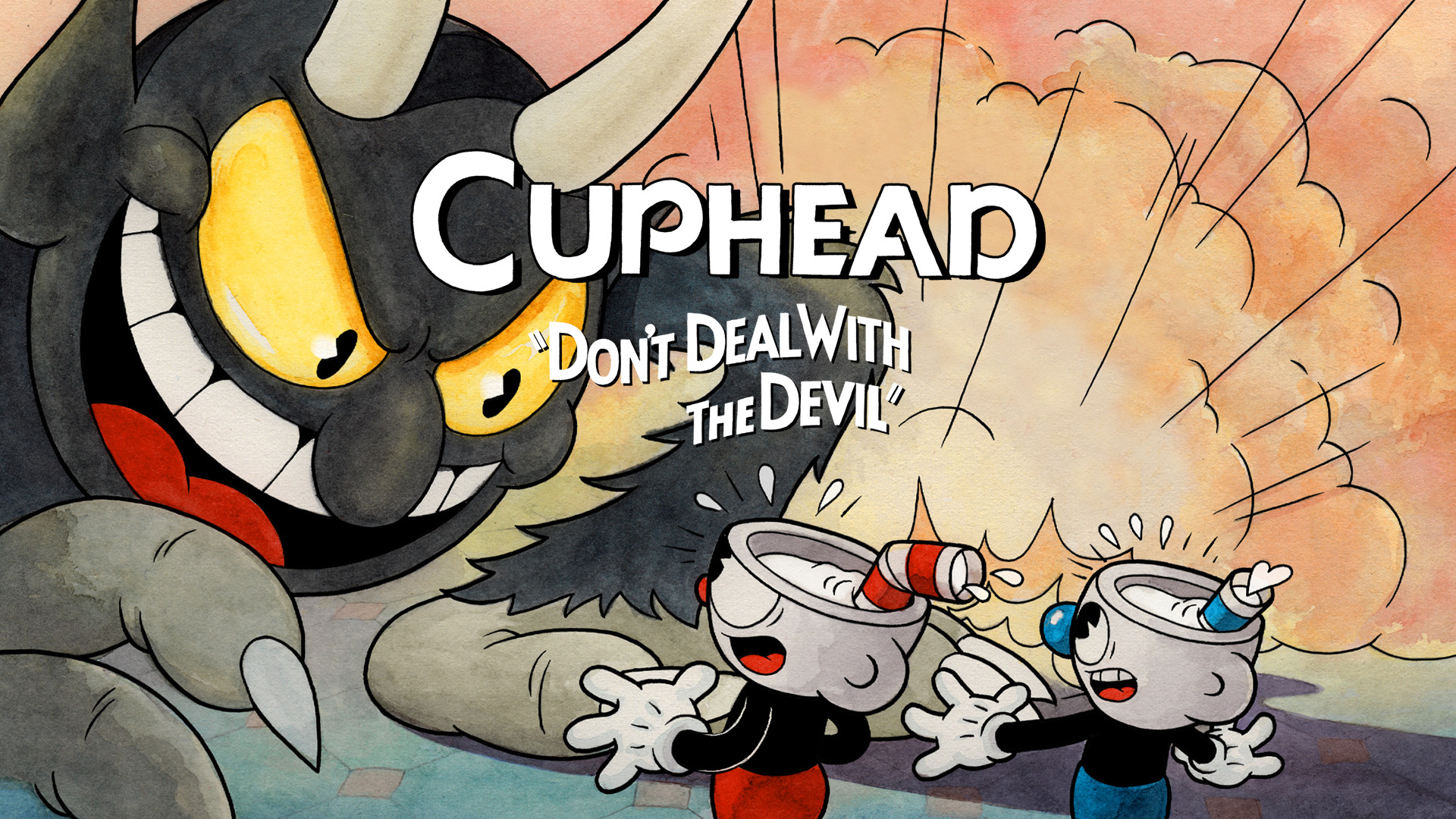 Cuphead Patch Set of 3