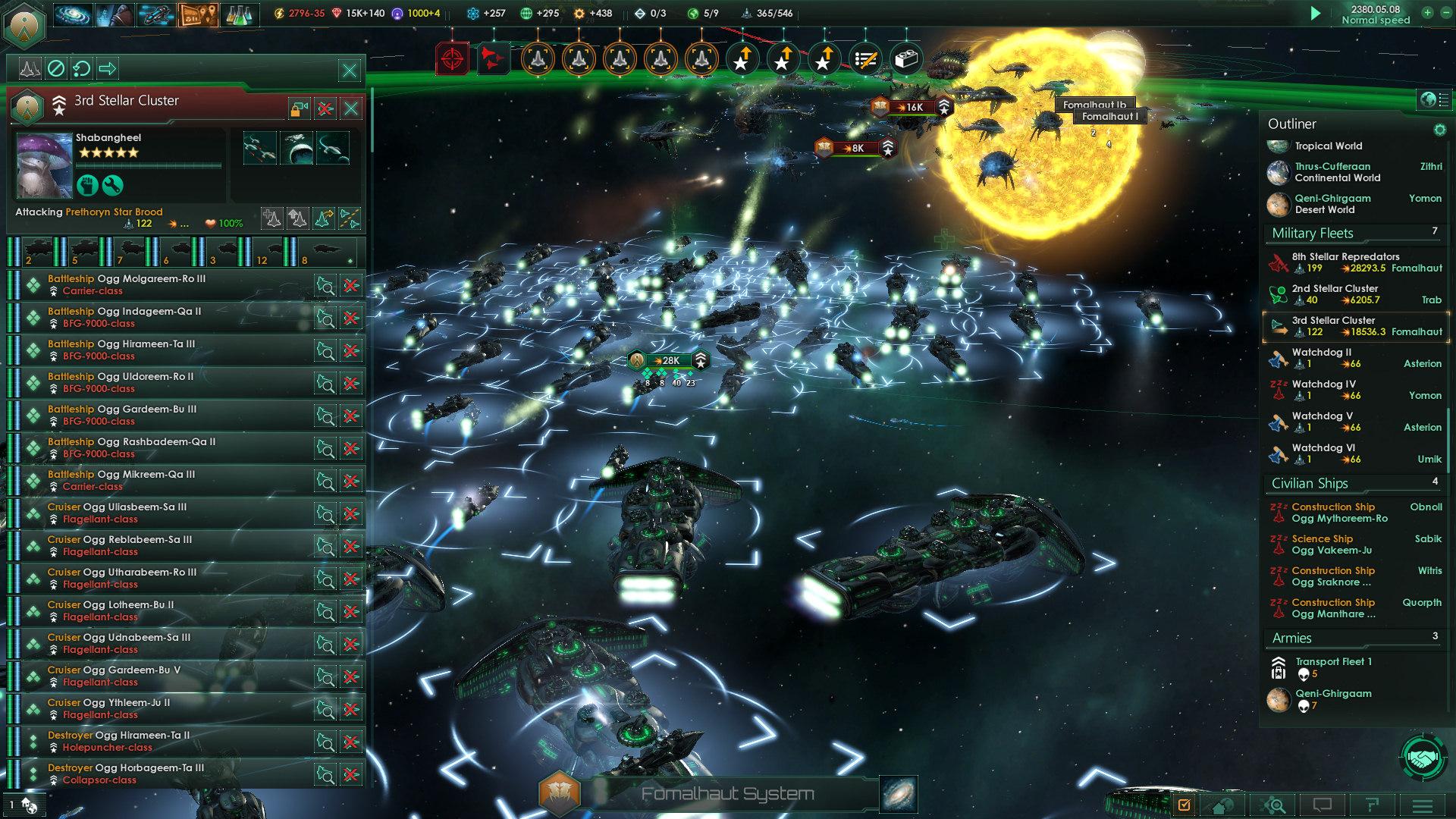 A nova expansão da Stellaris altera o sistema de navegação FTL