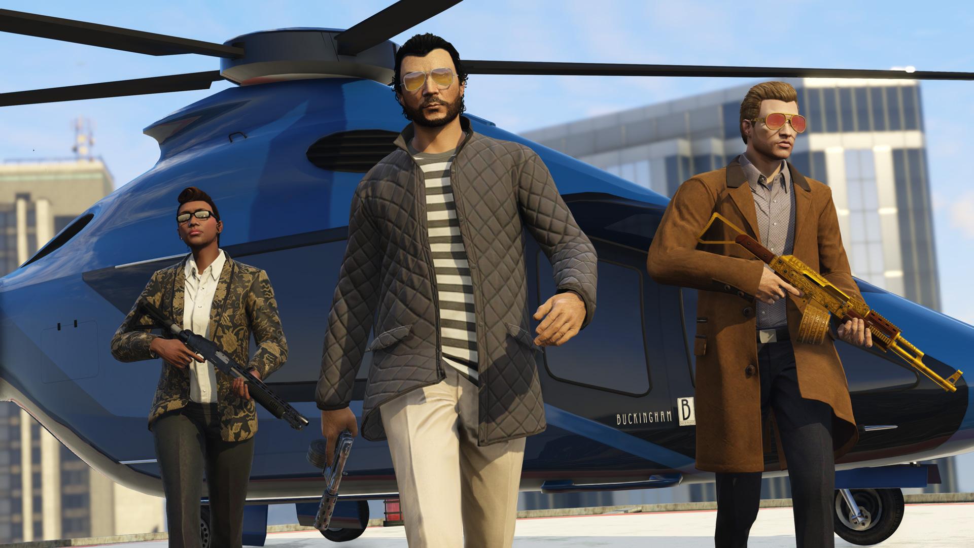 GTA Online monta a onda de sucesso e em dezembro quebrou o recorde de  usuários ativos »Vamos falar sobre videogames