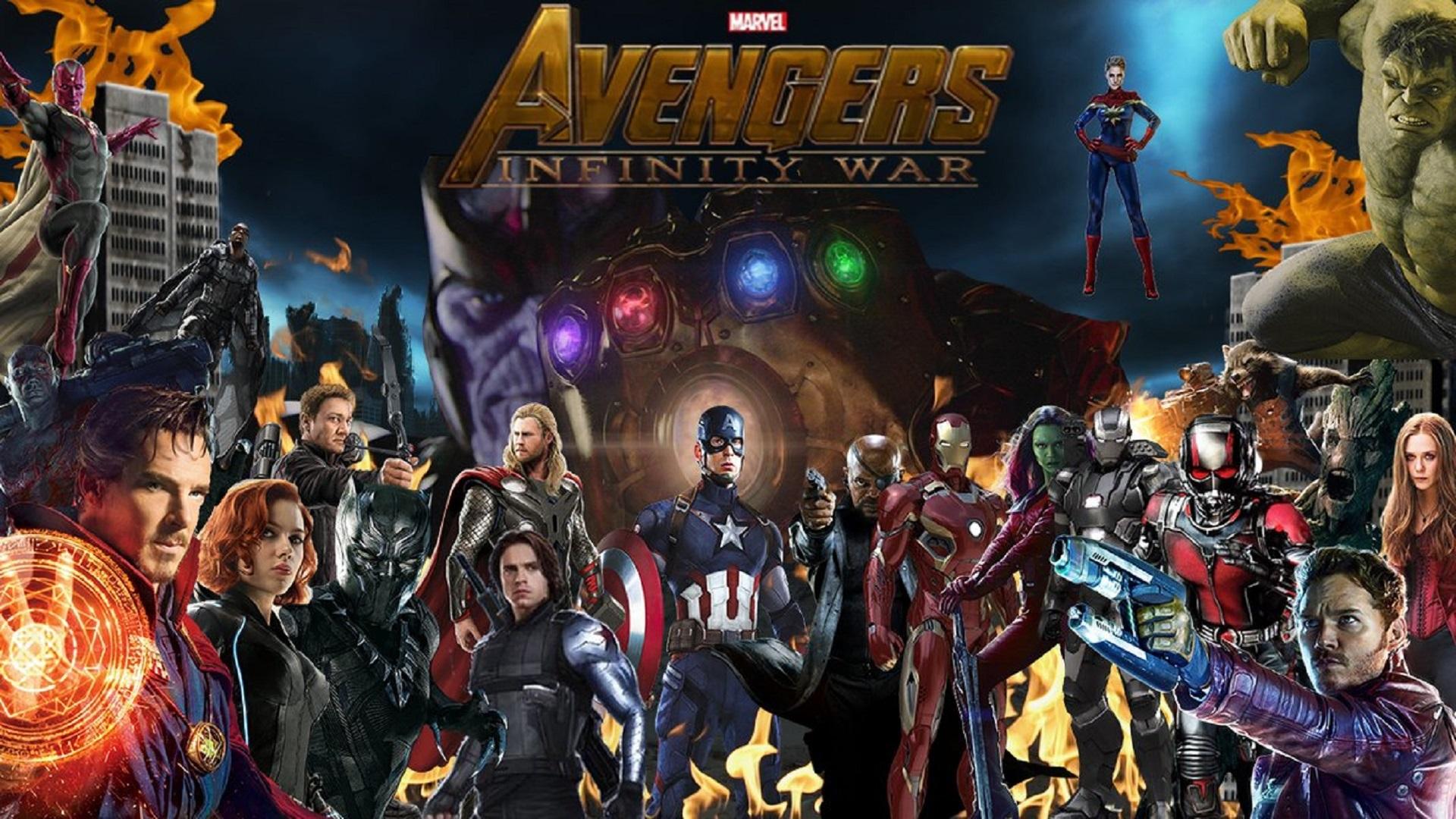 hot sale online c5835 e14f1 Avengers Infinity War arriva su 7 diversi giochi » Parliamo ...