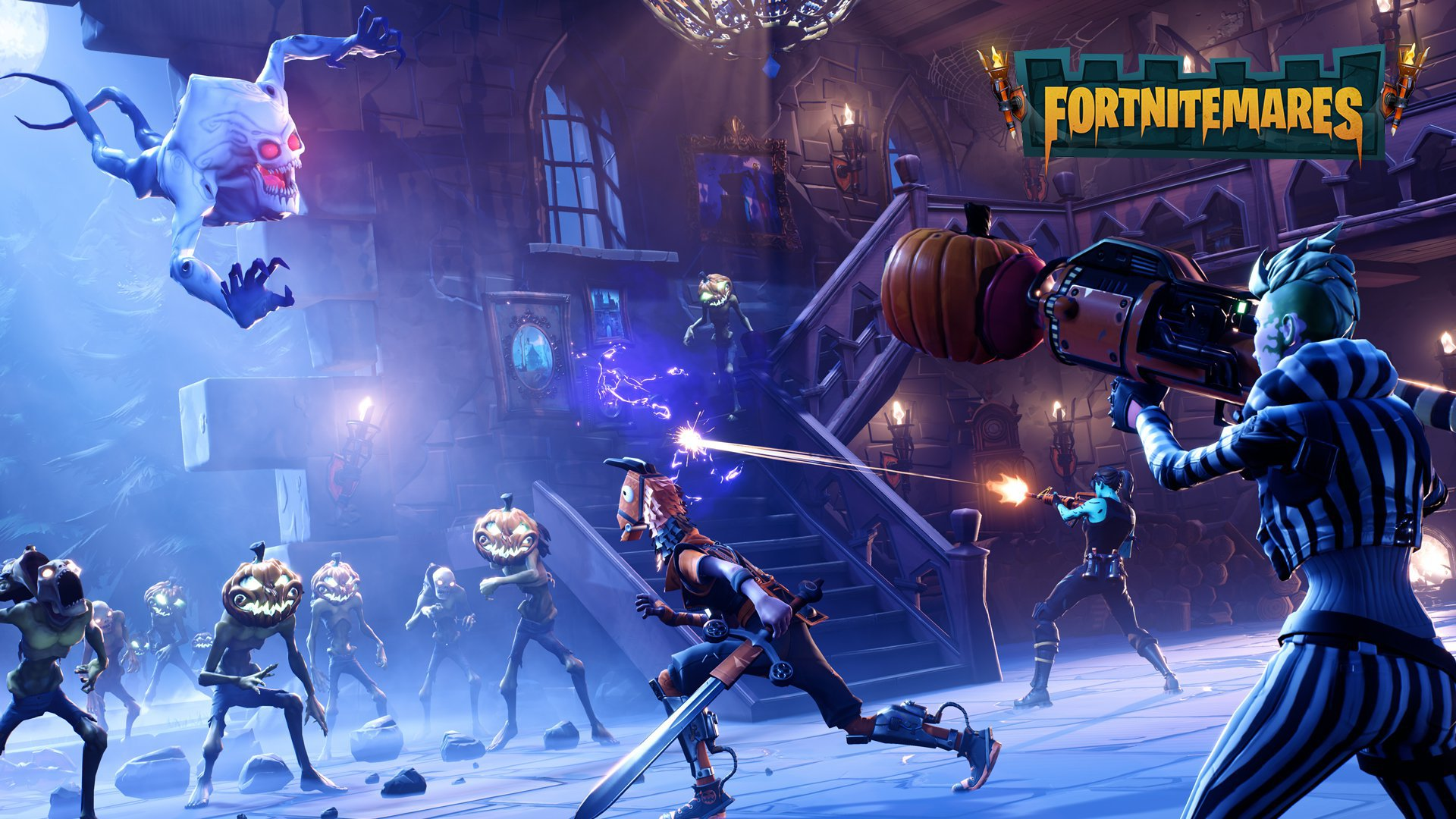 Fortnite, for the first time PvE mechanics have been included in the