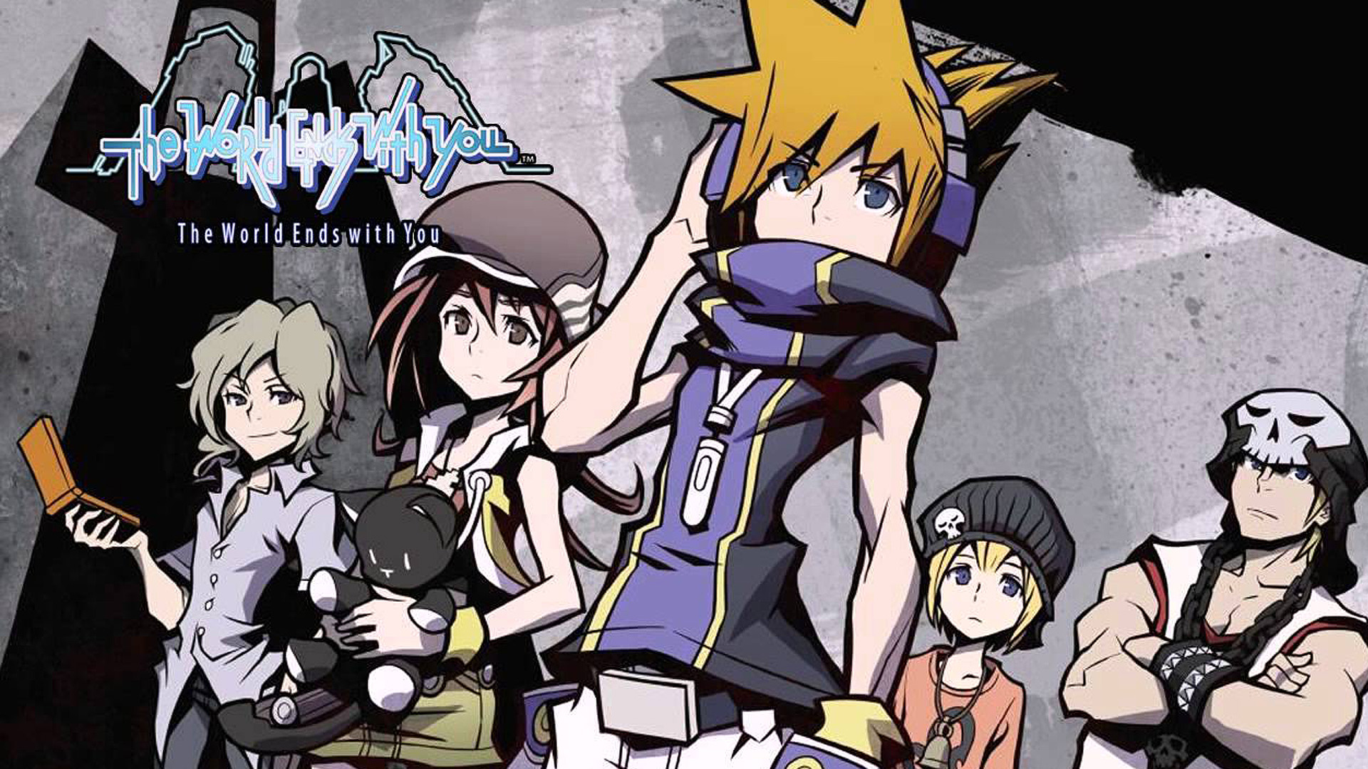 i protagonisti di The World Ends With You