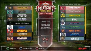 Mutant Football League