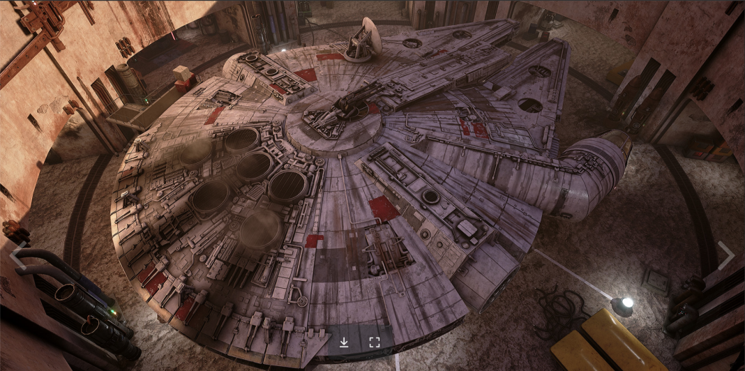 Star Wars Dark Forces en Unreal Engine 4