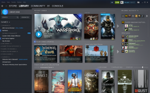 Steam: presto una nuova interfaccia