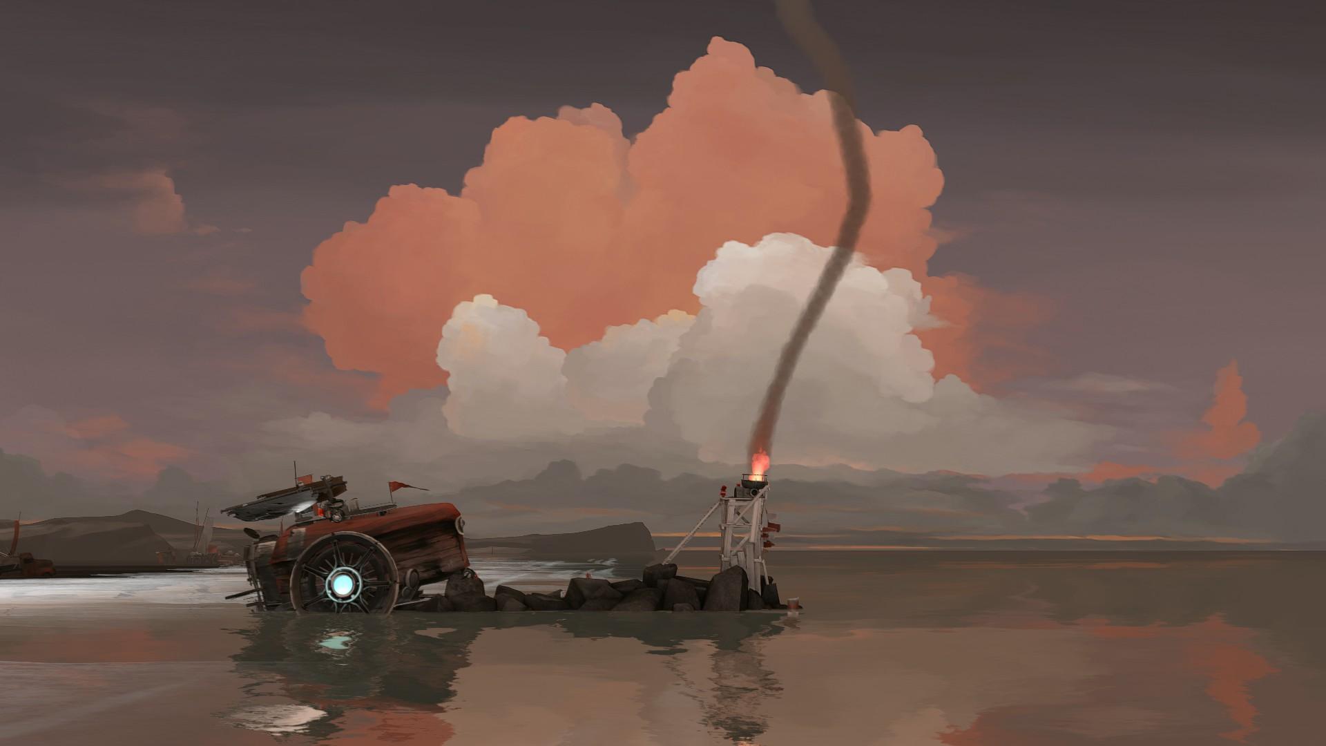 セイルズ ファー ローン 不思議な「船」で滅びゆく世界を冒険する終末旅行ADV。「ファー:ローン・セイルズ」Switch版の配信が本日スタート