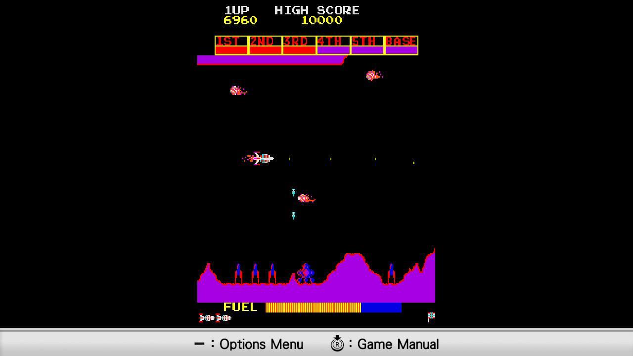 Konami Arcade Classics Jubiläumssammlung Scramble