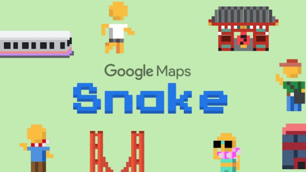 谷歌-MAPS-蛇头