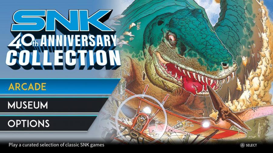 SNK 40th anniversary edition