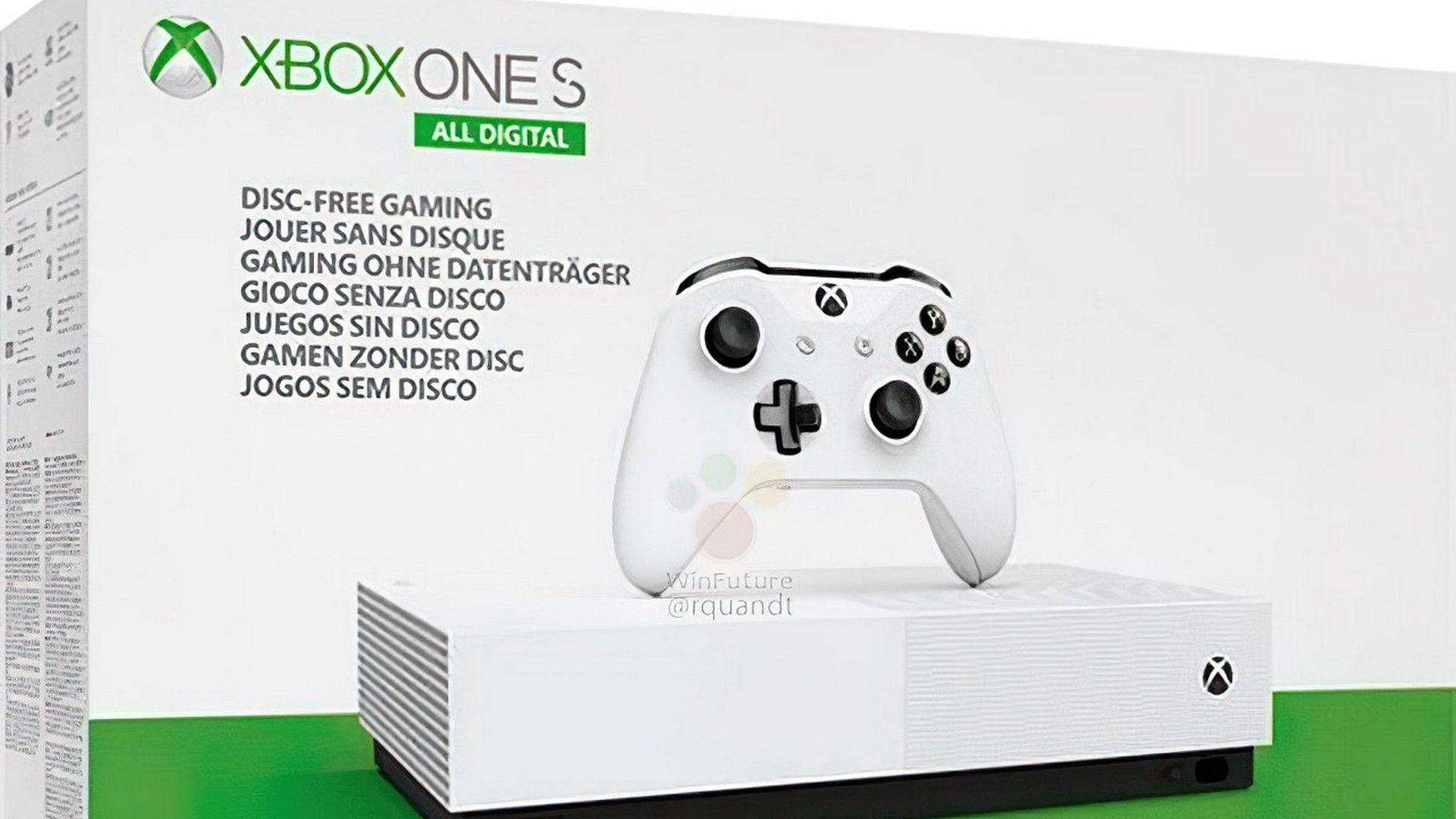 Xbox One S Édition entièrement numérique