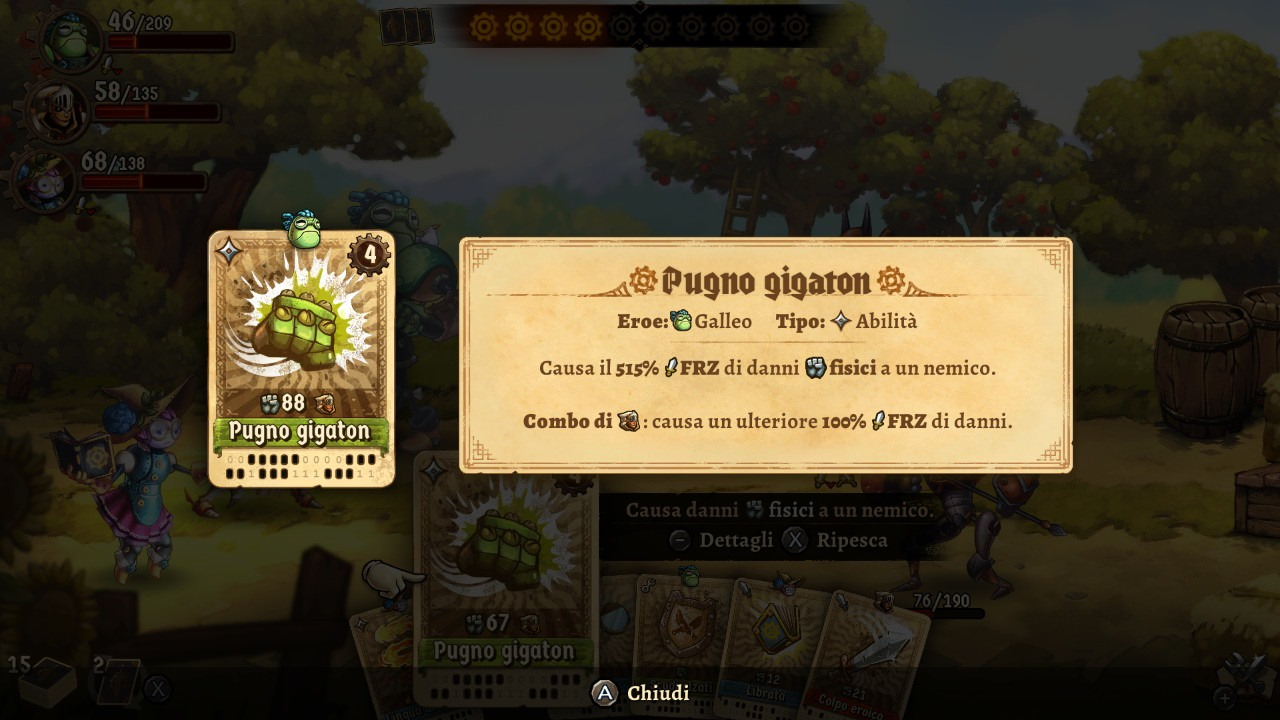 PDVG  -  Steamworld Quest Combo