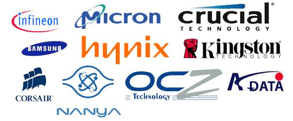 Производители RAM