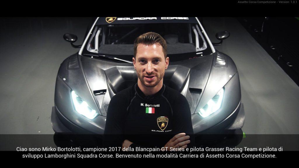 Assetto Corsa Competition Bertolotti