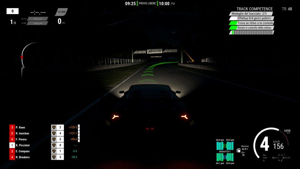 Assetto Corsa Competizione Notte