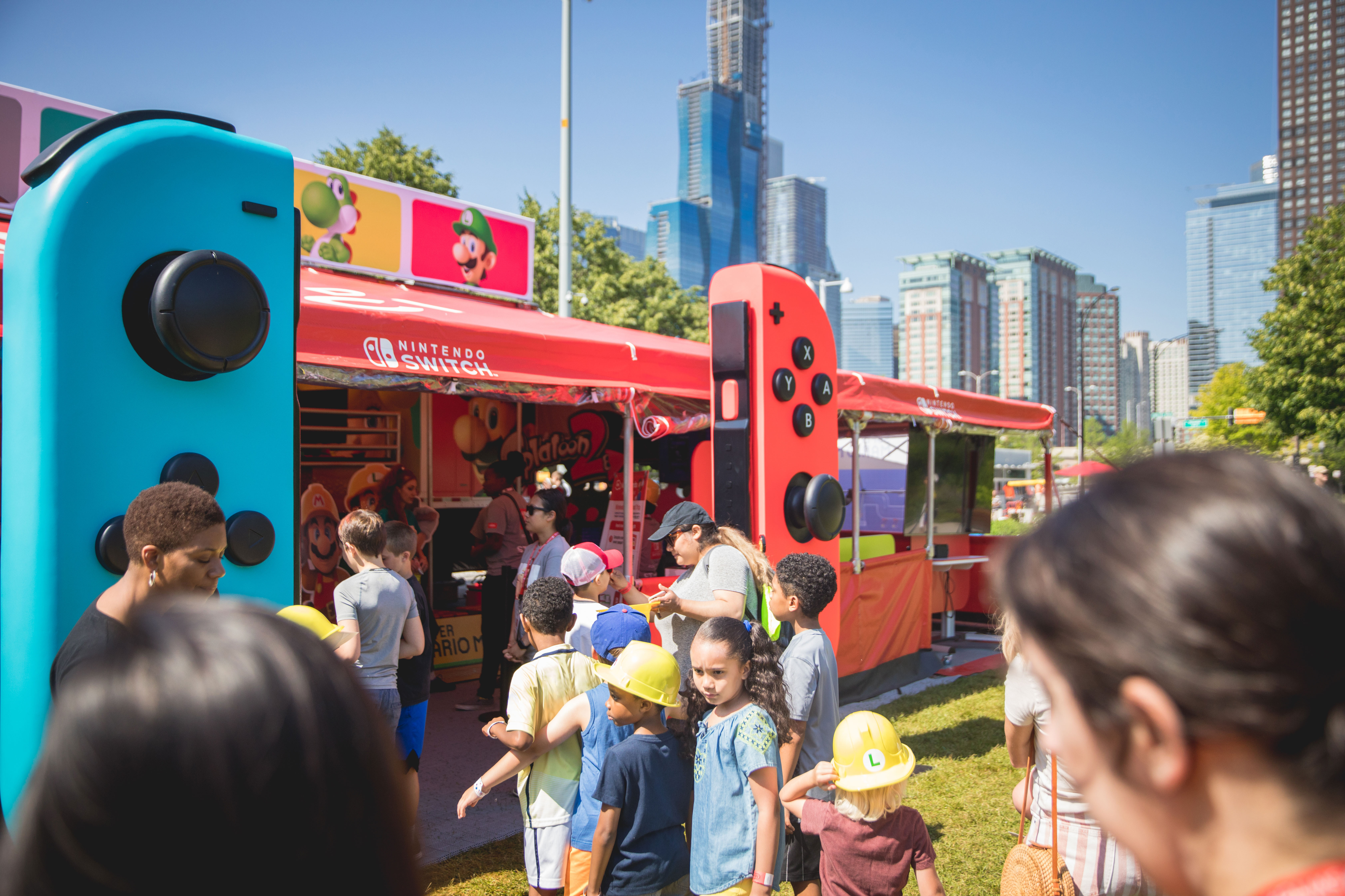 Photos of the Nintendo 2 Switch Road Trip and Super Mario