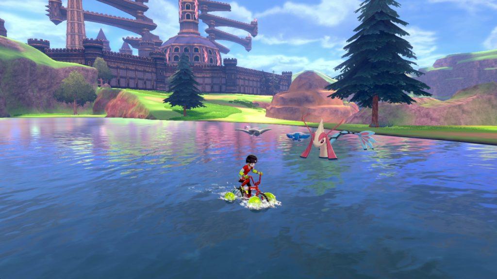 तलवार और ढाल पोकीमोन - झील