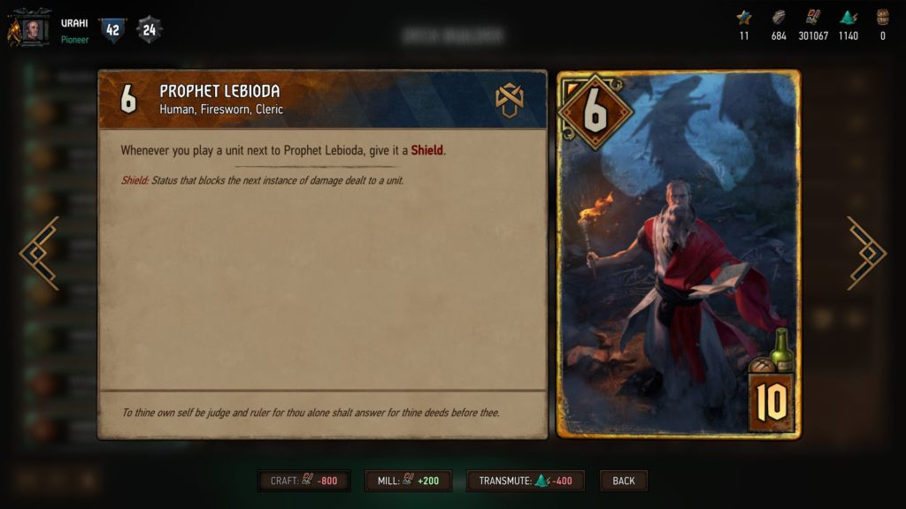 Gwent Review Novigrad 2
