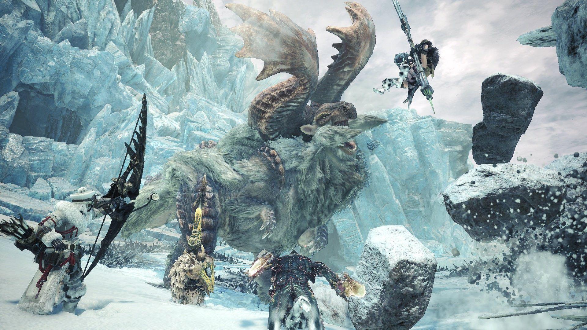 「Monster Hunter World: Iceborne」の画像検索結果