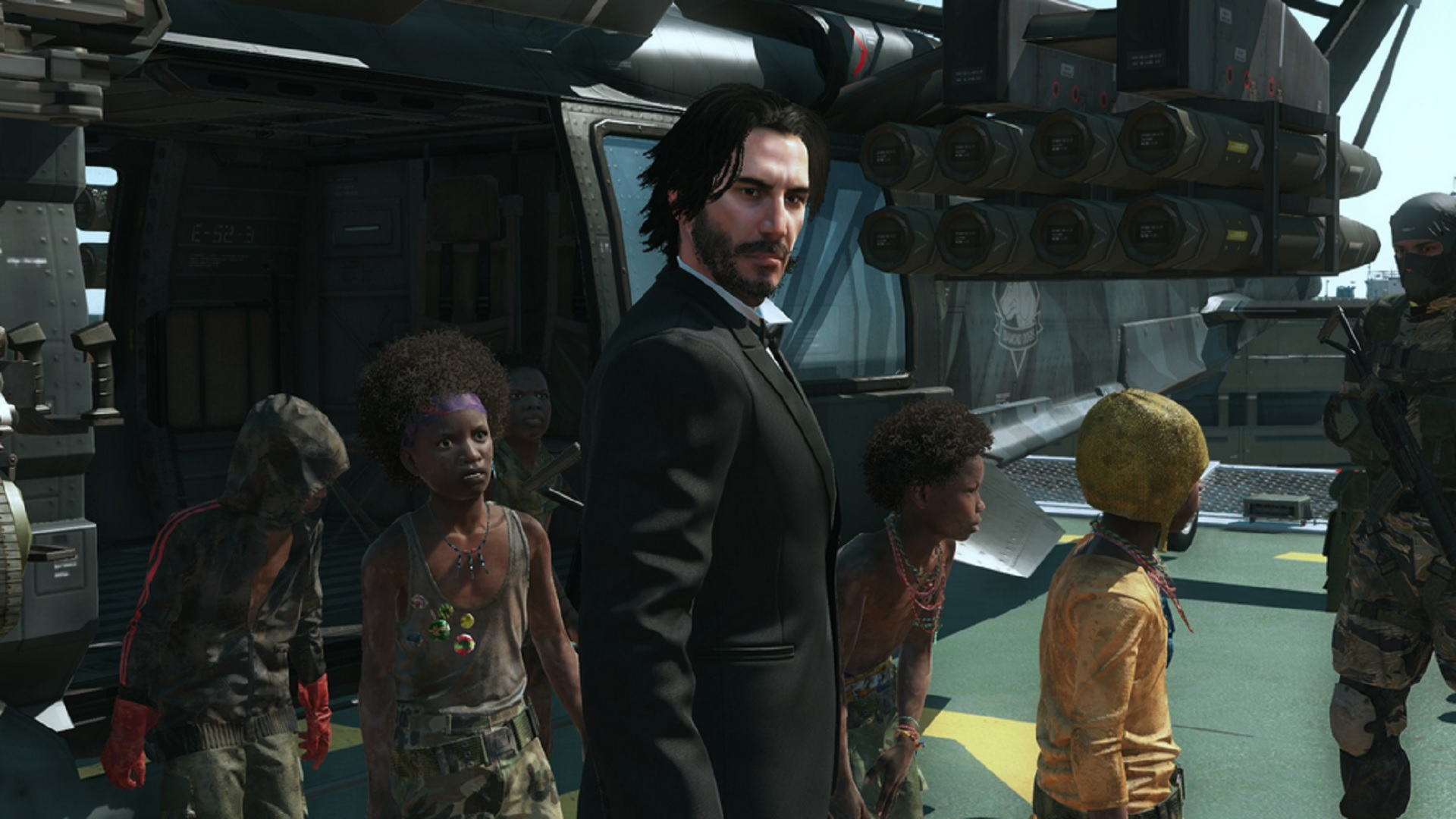 John Wick And Johnny Silverhand Arrive In Metal Gear Solid 5 Let S Talk About Video Games