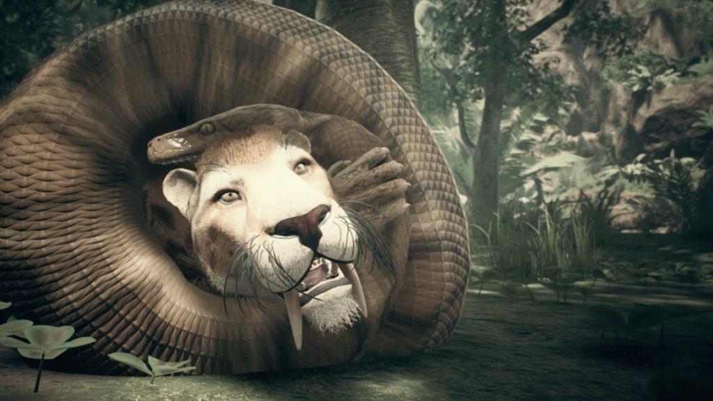 Predatori serpente e tigre denti a sciabola, Ancestor