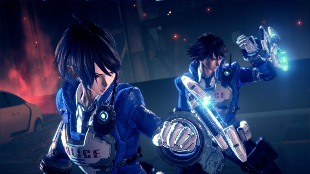 Astral Chain Preview Character