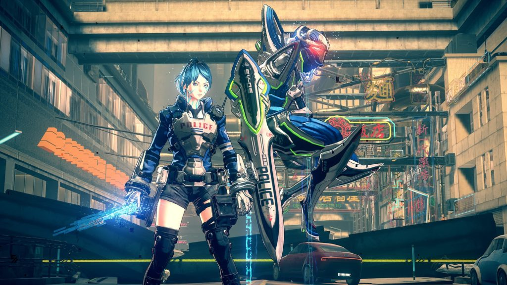 Astral Chain Anteprima mecha