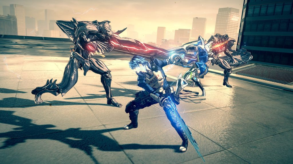 Astral Chain Preview бой