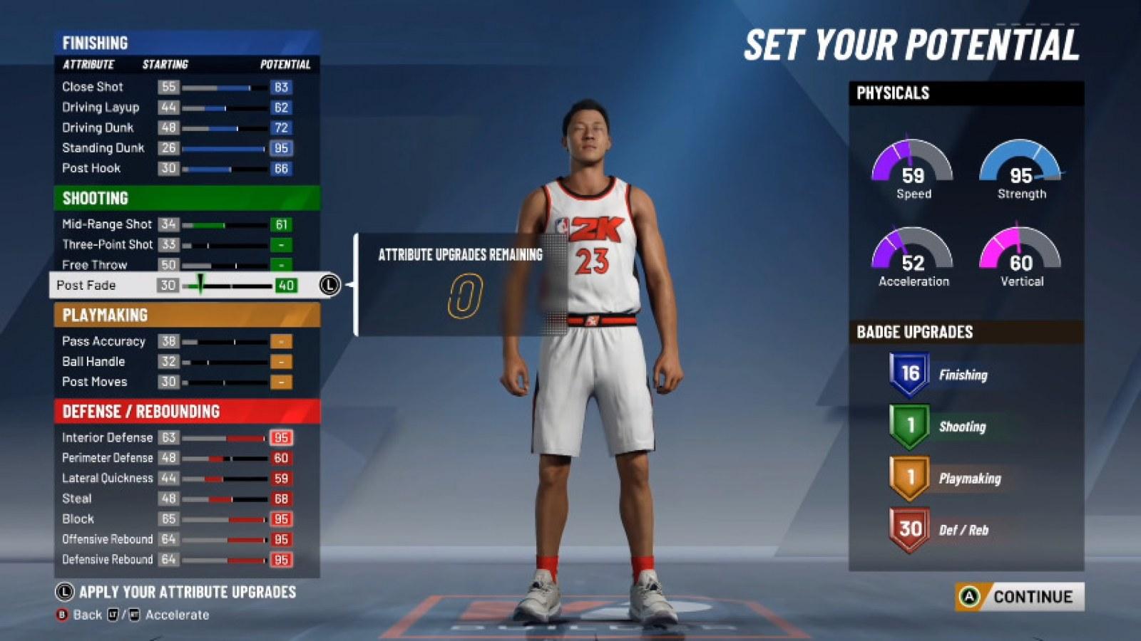 NBA 2K20 BUILD