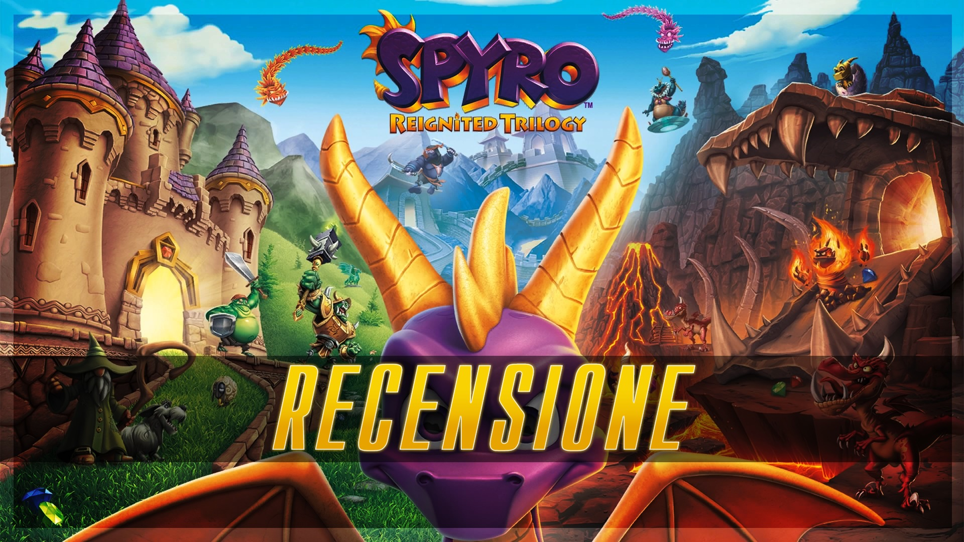 Spyro Reignited Trilogy Nintendo Switch Review Let S Talk About Video Games