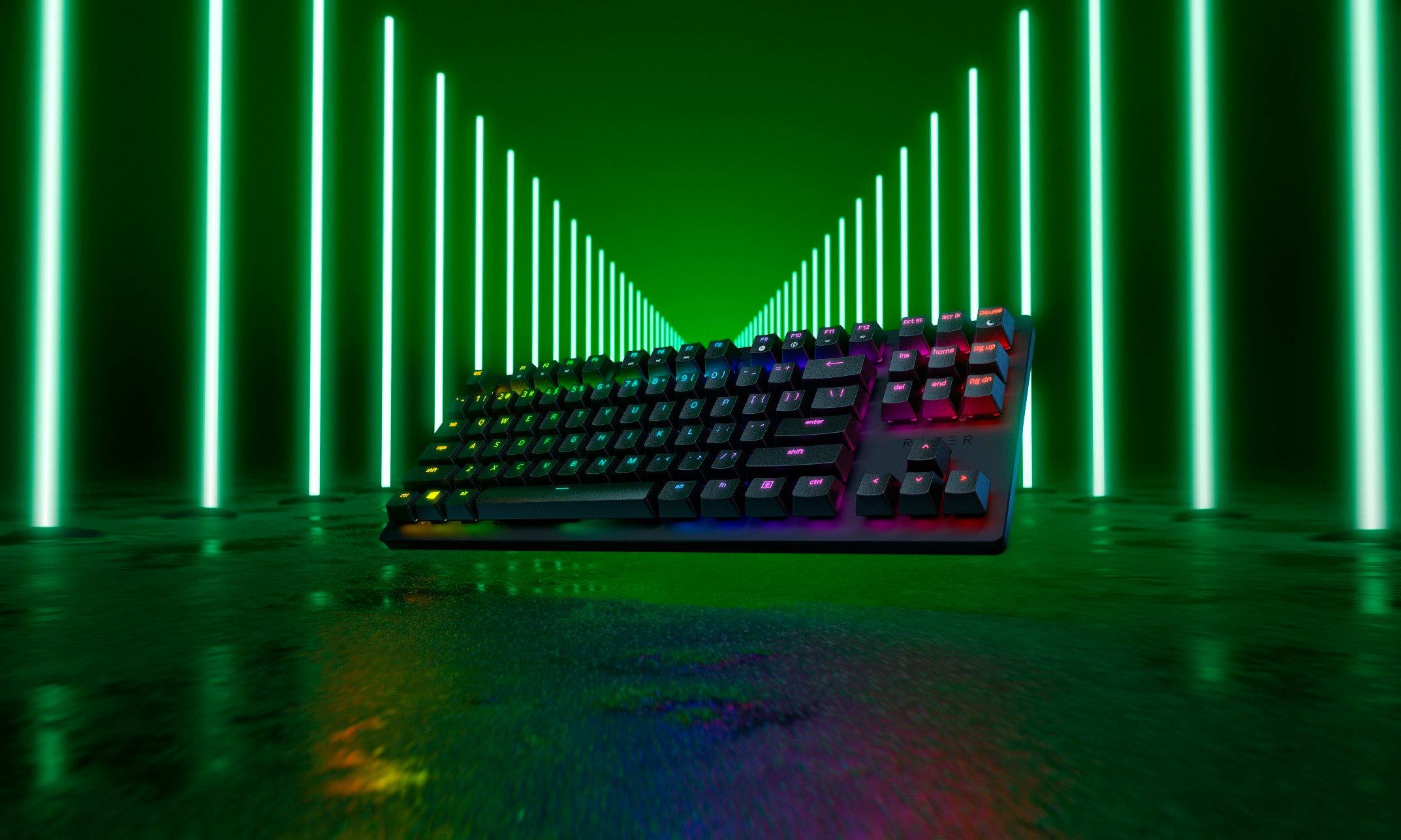 Compete at the Speed of Light With the Razer Huntsman