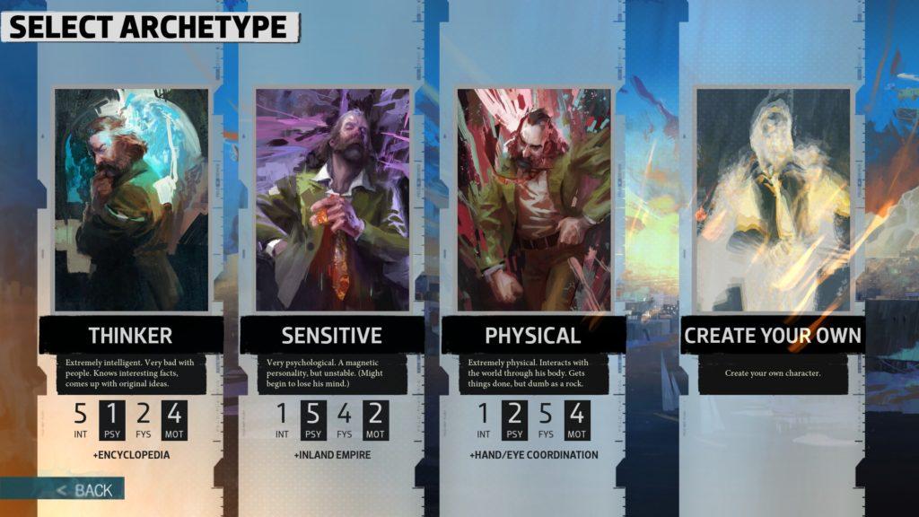 Disco Elysium - Archetypes protagonist