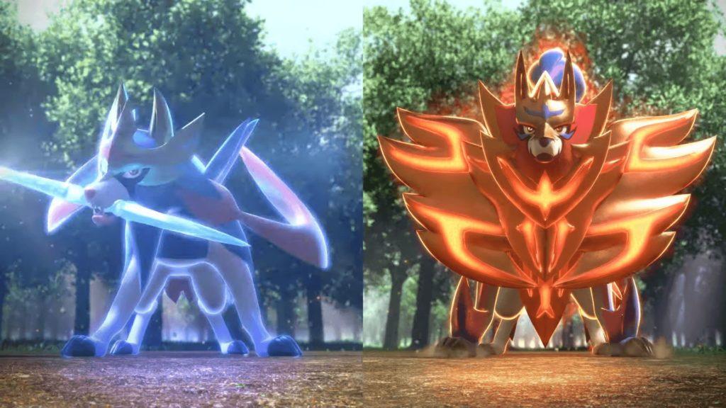 Pokémon Épée et Bouclier - Couverture légendaire