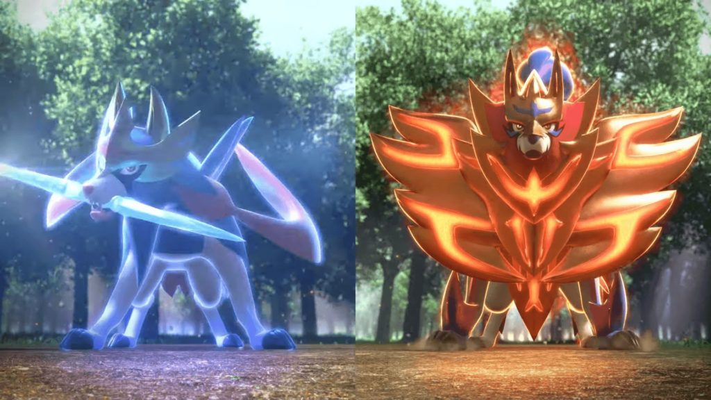 Pokémon Spada e Scudo - Copertina Leggendari
