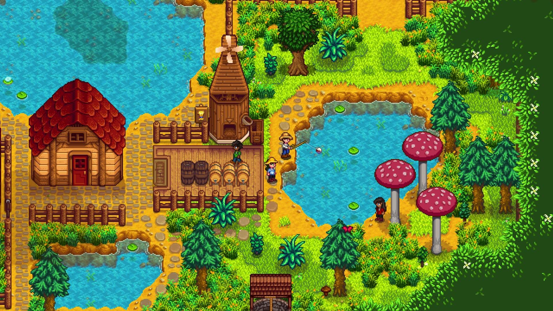 """Stardew Valley, o criador diz que a próxima atualização melhorará """"todos os  aspectos"""" do jogo """"Vamos falar sobre videogames"""