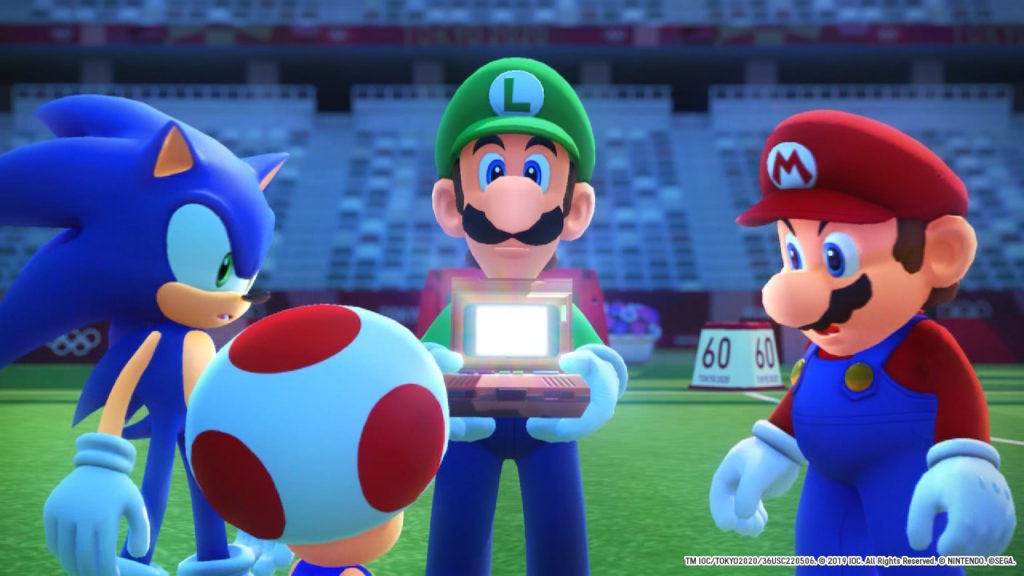 Mario & Sonic at the Olympic Games in Tokyo 2020