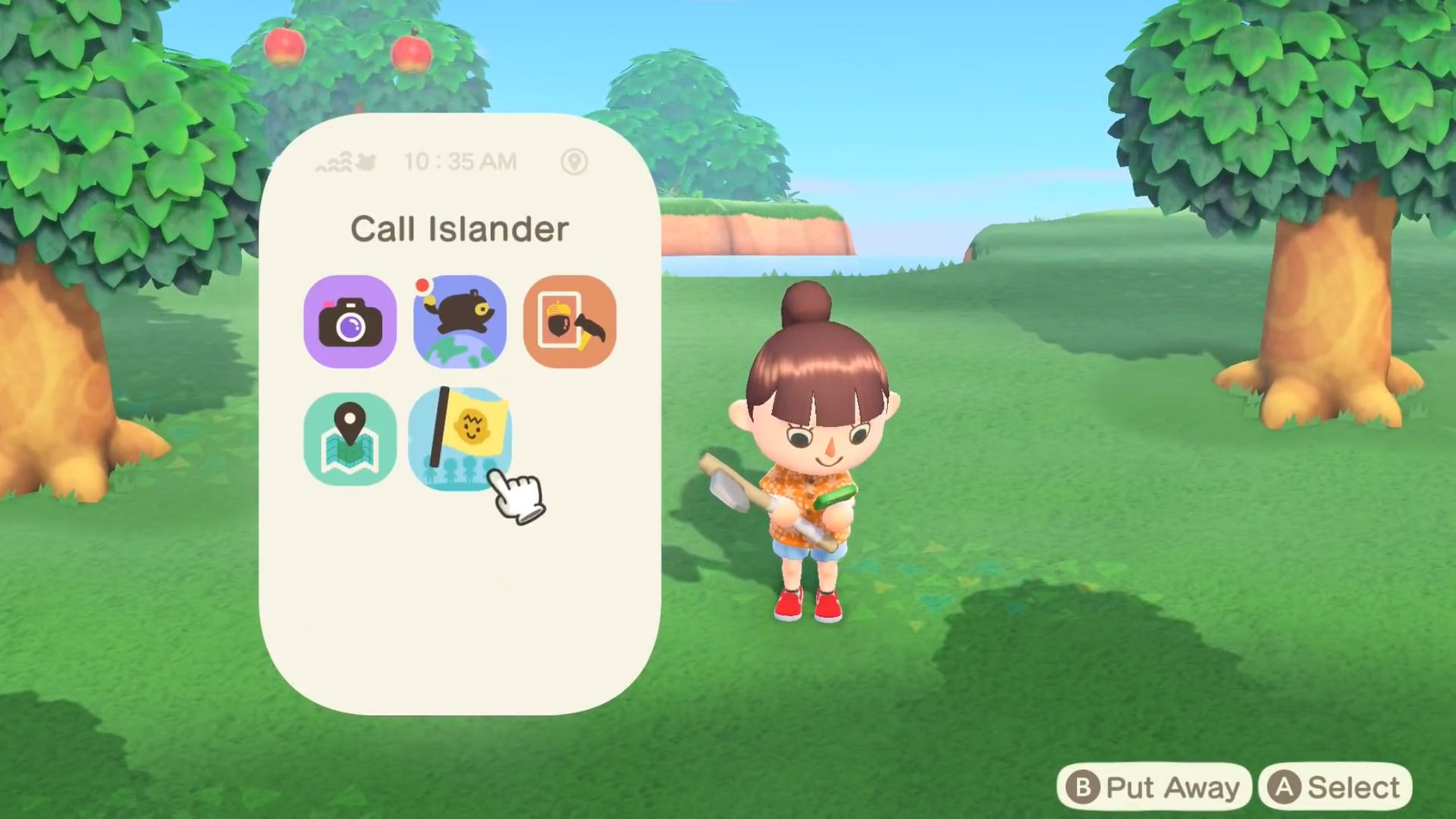 Приложение Animal Crossing Call